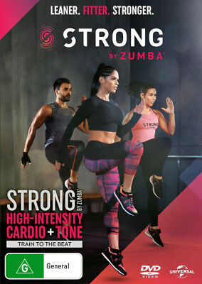 Strong by Zumba  - DVD - NEW Region 2, 4