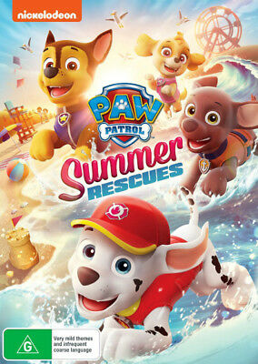 PAW Patrol: Summer Rescues  - DVD - NEW Region 4