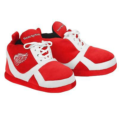 Detroit Red Wings NEW NHL Sneaker Slippers Adult Medium Forever Collectibles