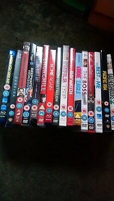 DVd/bluray bundle (16)