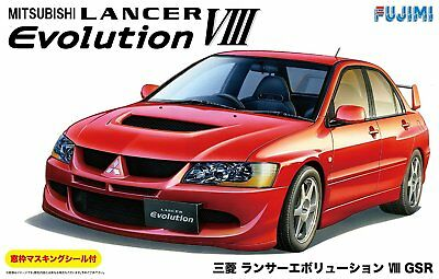 1/24 Mitsubishi Lancer Evolution VIII GSR Plastic model Fujimi ID-180 HTR Japan