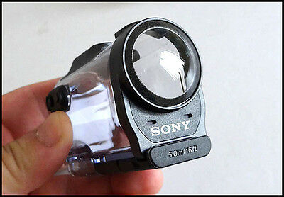 Genuine SONY Waterproof case SPK-AZ1 for HDR-AZ1 Action Cam, NEW !!!