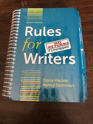 Rules for Writers with Writing about Literature (Tabbed Version) by Diana Hacker