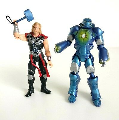 "Marvel Universe Action Figure 3.75"" Captain America Set Thor And Steve Rodgers"