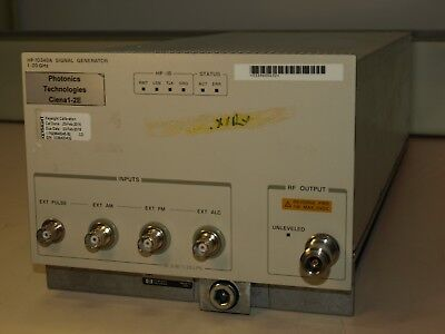HP/Agilent 70340A Frequency Generator  1 – 20Ghz
