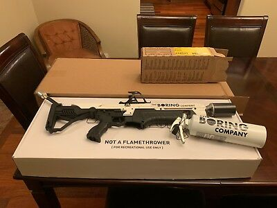 The Boring Company Not-a-Flamethrower 🔥 Brand New Never Used! Lucky #13328