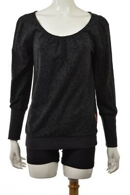 French Connection #2048 NEW Women Long Sleeve Bulldog Knit Jumper Top MSRP $128