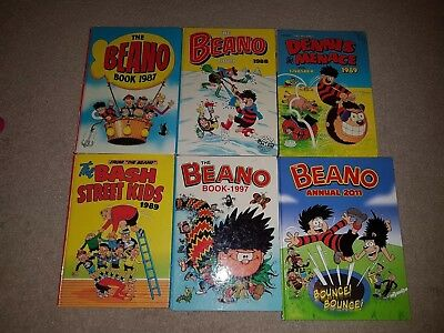 The Beano, Various Annuals.
