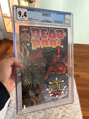 DEADPOOL #1 Marvel 1997 (Vol. 1) CGC 9.4 1st Blind Al & 1st T-Ray FREE SHIPPING!