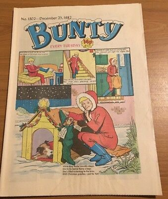 BUNTY comic No.1302 -December 25th 1982 Christmas Edition