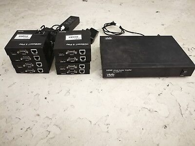 1080p/60Hz HDBaseT HDMI Display Extenders Cat5e/6 Job Lot