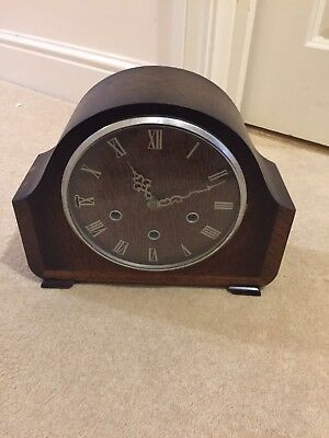 Smiths Mantle Clock With Westminster Chimes