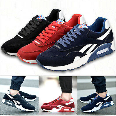 Mens Women Running Trainers Sports Lace Up Gym Walking Boys Casual Shoes Uk Boot