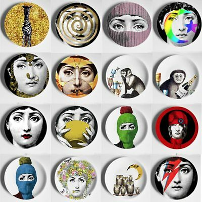 Colorful 8 pollice Vintage Fornasetti Piatti Nordic Home Studio Bar Dell'hotel