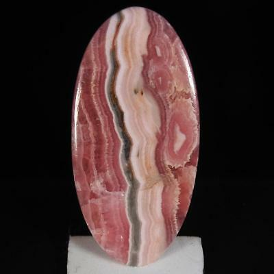 30.25Cts.100% Natural Rhodochrosite Oval Cabochon Rare Loose Gemstone
