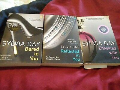 Sylvia Day Crossfire Series 3 book collection