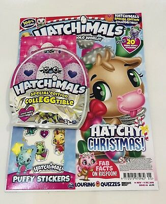 HATCHIMALS Magazine #5 With SPECIAL EDITION COLLEGGTIBLE! (NEW)