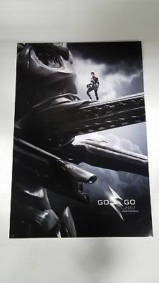 "Power Rangers Go Go Black 13"" x 20"" Movie Poster"