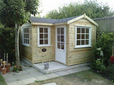 £200 OFF-AUTUMN WINTER DISCOUNT Corner Cottage Summer House-Garden Office