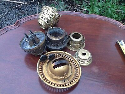antique oil lamp parts