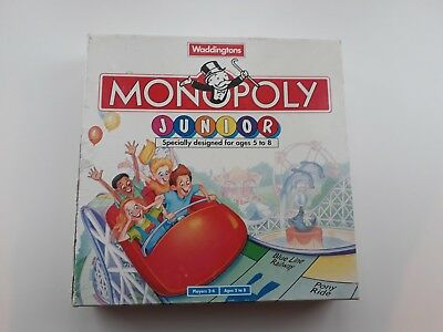 Monopoly Junior Board Game by waddington
