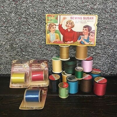 Vintage Thread And Needle Lot - Sewing Susan