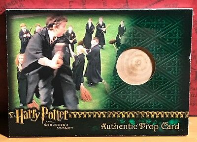 Harry Potter Sorcerer's Stone Prop card Practice Broom #299