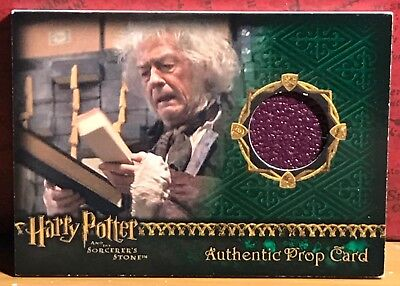 Harry Potter Sorcerer's Stone Prop card Wand Box  #817