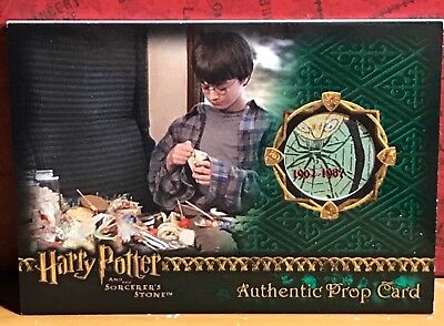 Harry Potter Sorcerer's Stone Prop card Wizard Candy #33 Amazing variant, low #
