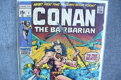 Conan The Barbarian Issue #1 Vg  Key Dc