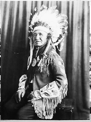 Photo Of Katsi-Koti (Dick Washakie) Shoshone Chief - Cira: 1915 - Original Photo