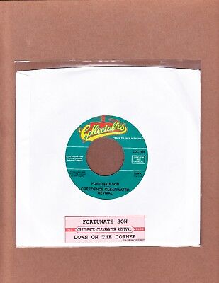 Creedence Clearwater Revival - Fortunate Son/down On The Corner Jukebox 45  Mint