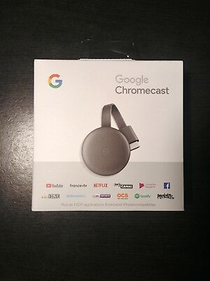 Google Chromecast 3 (2018) Passerelle multimédia