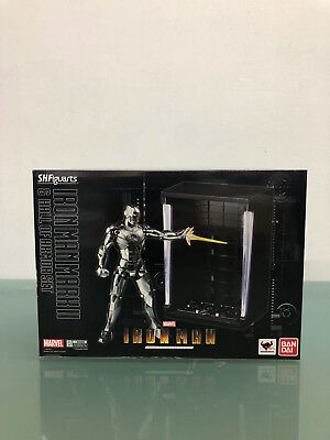 Marvel S.H. Figuarts IRON MAN MK 2 & Hall of Armor Set Figure Bandai New NO RES!