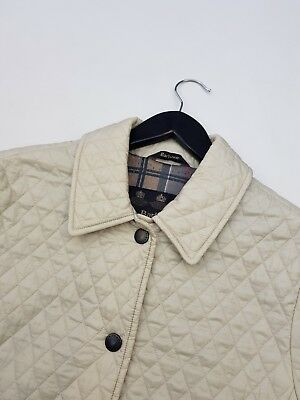 Women's Barbour Quilted Jacket Coat Size 8Uk  Excellent Condition!