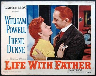16mm Film Feature  LIFE WITH FATHER   Eastman   3 1600ft Reels   1947 CLASSIC