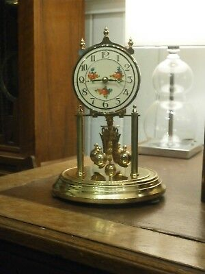 KUNDO Torsion 400 day Anniversary Clock Kieninger & Obergfell parts mantle