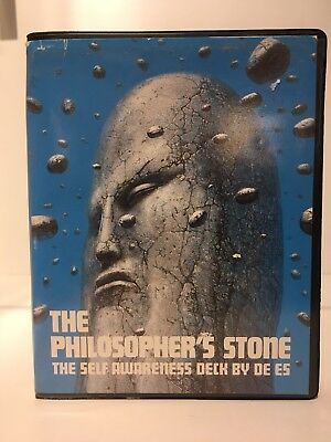 the philosopher's stone fortune telling deck by De Es 40 Cards - Complete