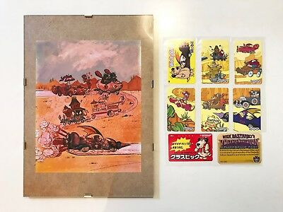 WACKY RACES ARTS COLLECTION Hanna Barbera Productions Dick Dastardly - EX RARE