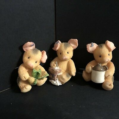 Enesco TLP This Little Piggy Figurine Magnets