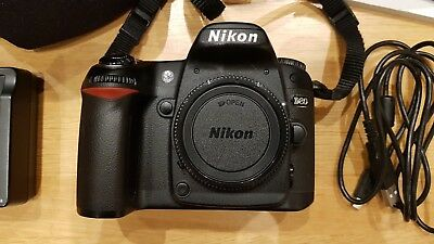 Nikon D80 10.2MP Digital SLR Camera - Black (Body only) High Shutter Low Price