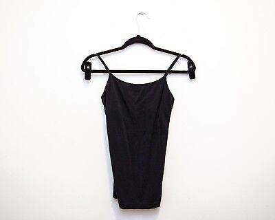 Black Gap Maternity Camisole with Built-in Bra, Size Small