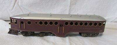 Vintage HO Scale Virginis and Truckee Train Car Passenger Baggage #12 Neat Metal