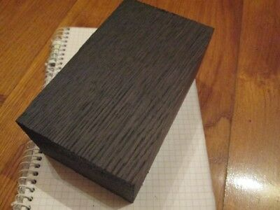 Bog oak blanks for pipes(59 mm x 75 mm x 145 mm) (morta,wood) from 1000-6000year