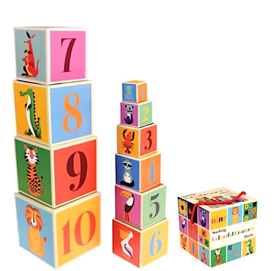 Educational Toy For Baby / Kids. Stacking Blocks Great Toddler Christmas Present