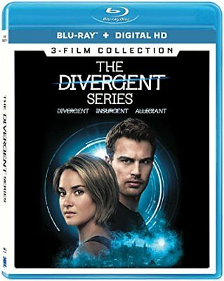 The Divergent Series - 3-Movie Collection [Blu-ray] New and Factory Sealed!!