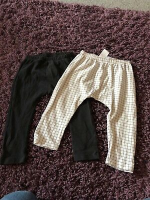 NEXT Baby Leggings Set Boy Girl Unisex 12-18 Months