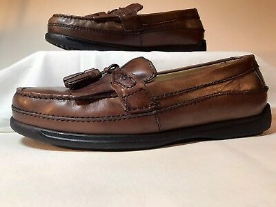 6f18638aeeb Dockers Men s Sinclair Leather Casual Kiltie Loafer Shoe Size 10 Wide Men