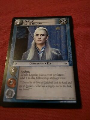 LOTR Trading Card Game Legolas Son Of Thranduil 3P 121