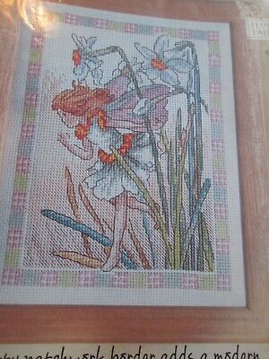 'A Little Bit Of Magic' Narcissus Flower Fairy Cross Stitch Chart Only